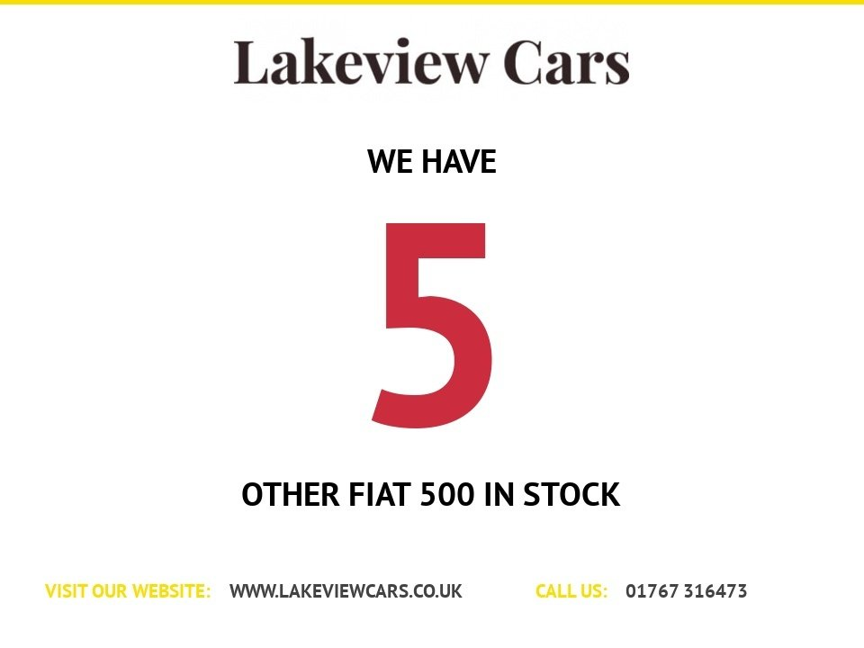 USED 2012 62 FIAT 500 1.2 LOUNGE 3d 69 BHP