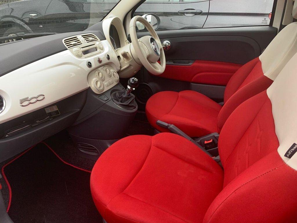USED 2012 62 FIAT 500 1.2 LOUNGE 3d 69 BHP