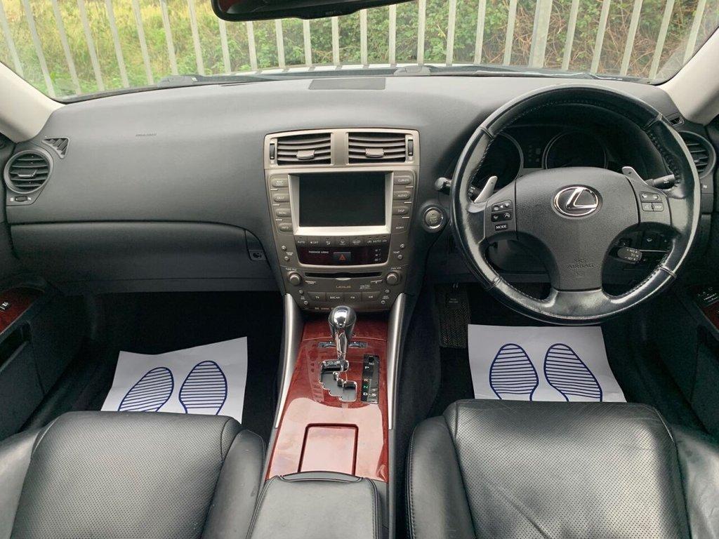 USED 2007 57 LEXUS IS 2.5 250 SE-L 4d 204 BHP