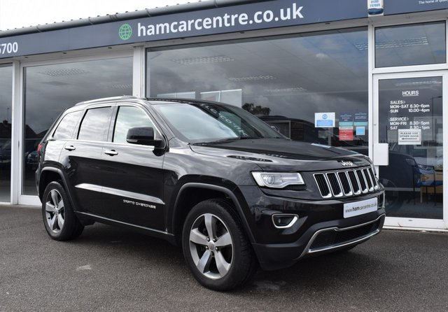 2017 67 JEEP GRAND CHEROKEE 3.0 V6 CRD LIMITED PLUS 5d 247 BHP LOW-MILES BIG-SPEC