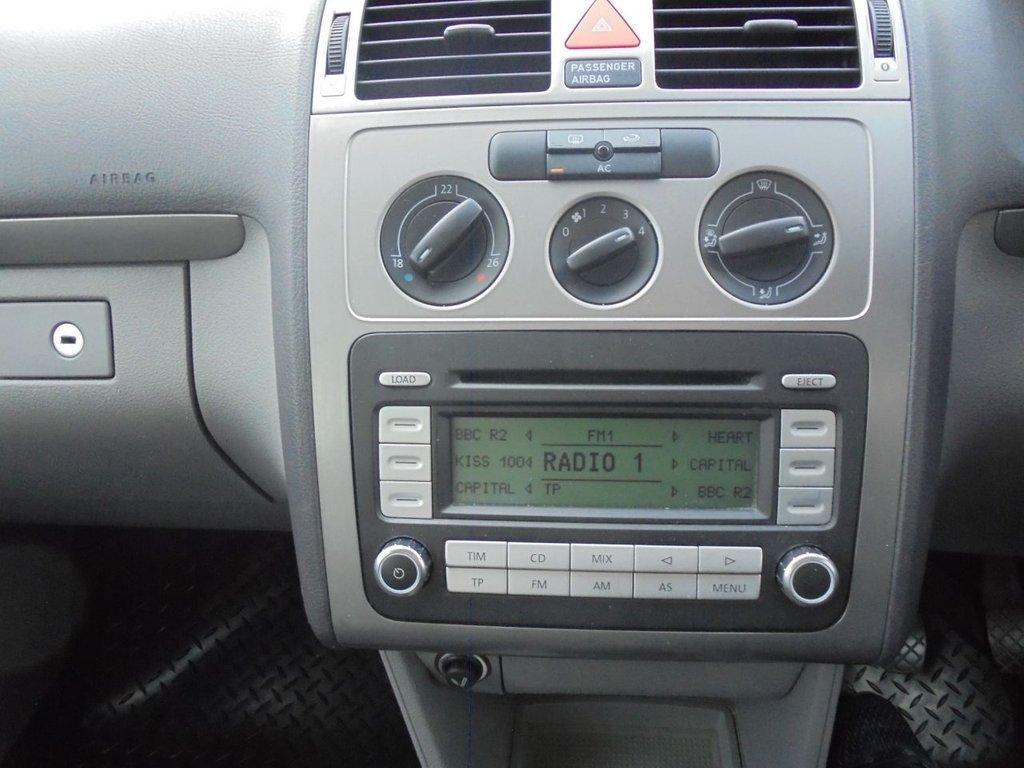 USED 2008 08 VOLKSWAGEN TOURAN 1.9 SE TDI 5d 103 BHP