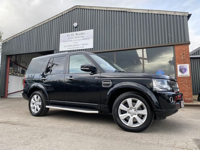 USED 2016 16 LAND ROVER DISCOVERY 3.0 SDV6 SE TECH 5d 255 BHP LOW MILES 7 SEATS DISCOVERY, REAR TOW BAR FITTED, 2 KEYS, FULL LEATHER