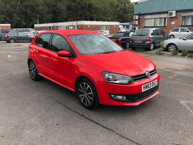 USED 2013 63 VOLKSWAGEN POLO 1.2 MATCH EDITION 5d 69 BHP