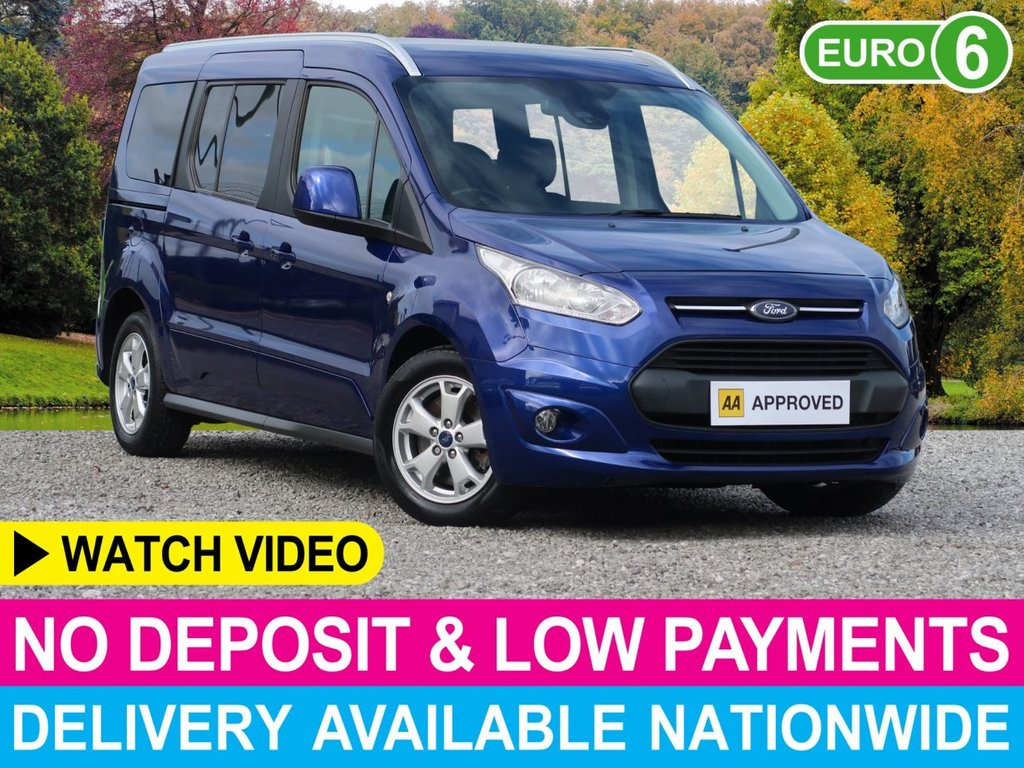 USED 2016 66 FORD GRAND TOURNEO CONNECT 1.5 TDCI Titanium 7 Seats 5dr Glass Panoramic Roof 7 Seats