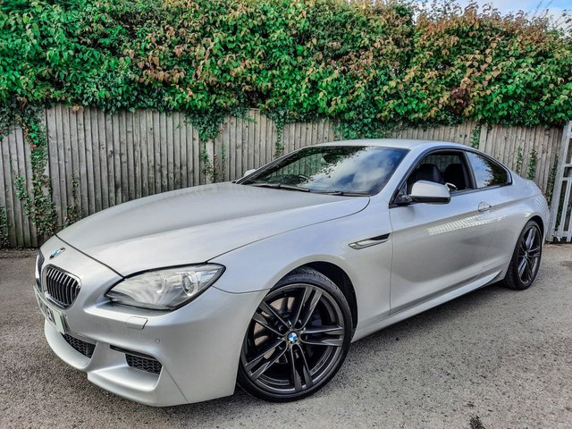 2013 13 BMW 6 SERIES 3.0 640D M SPORT 2d 309 BHP