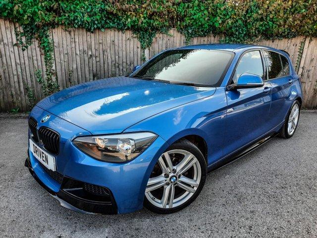 2014 64 BMW 1 SERIES 2.0 116D M SPORT 5d 114 BHP