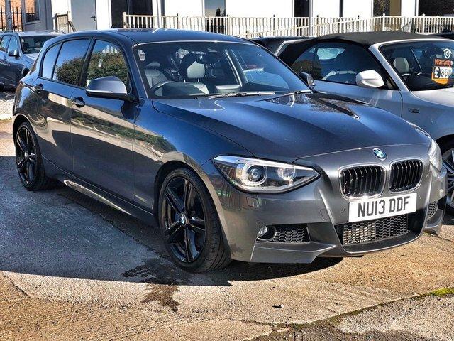 2013 13 BMW 1 SERIES 2.0 125D M SPORT 5d 215 BHP