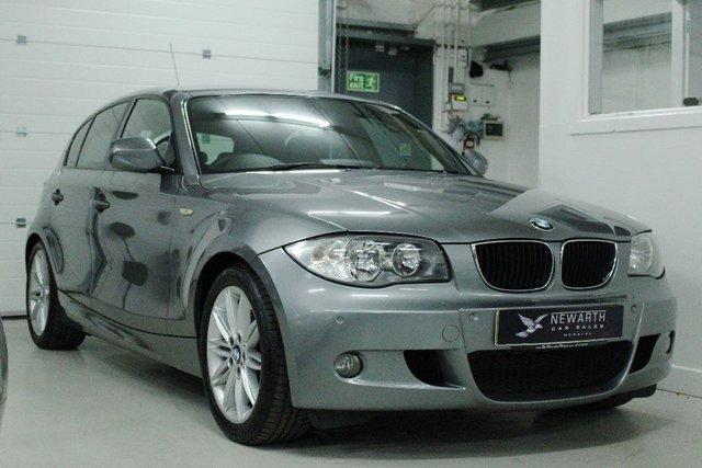 2010 60 BMW 1 SERIES 2.0 120D M SPORT 5d 175 BHP