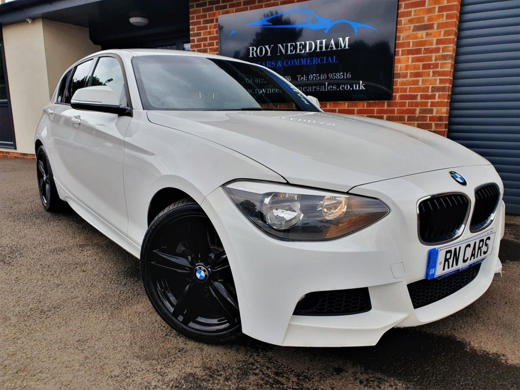 USED 2013 63 BMW 1 SERIES 2.0 125D M SPORT 5DR 215 BHP *** NEW DISCS+PADS - FRESH ALLOYS ***