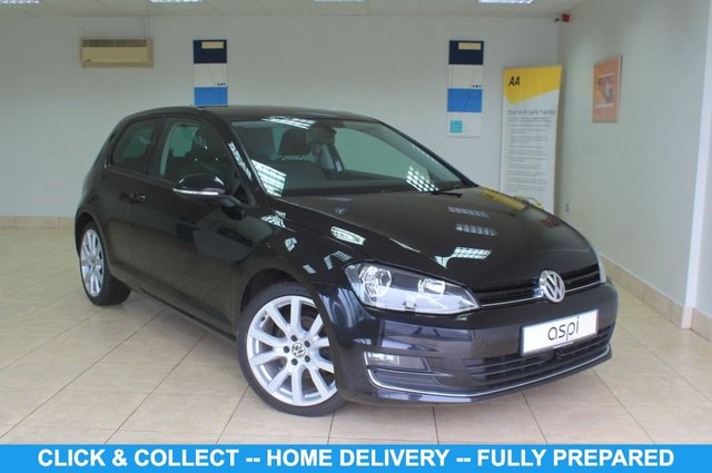 USED 2014 64 VOLKSWAGEN GOLF 2.0 GT TDI BLUEMOTION TECHNOLOGY 3d 148 BHP GREY AND BLACK ALCANTARA INTERIOR, SATELLITE NAVIGATION, BLUETOOTH, MEDIA, BLUETOOTH MUSIC, PARKING SENSORS, STOP/START TECHNOLOGY, RADAR ACTIVE CRUISE CONTROL, AUTO HILL HOLD, MULTI FUNCTION STEERING WHEEL