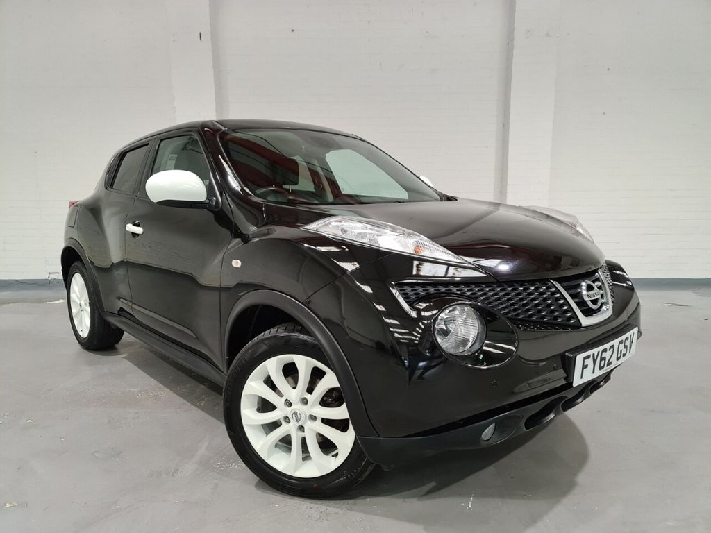 USED 2012 62 NISSAN JUKE 1.5 MINISTRY OF SOUND EDITION DCI 5d 110 BHP