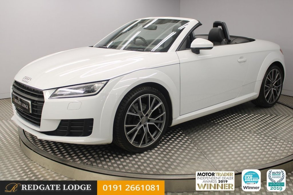 USED 2016 65 AUDI TT 2.0 TDI ULTRA SPORT 2d 182 BHP SAT/NAV, LEATHER, DAB, BLUETOOTH, BRAND NEW UPGRADED 19s TYRES AND ALLOYS