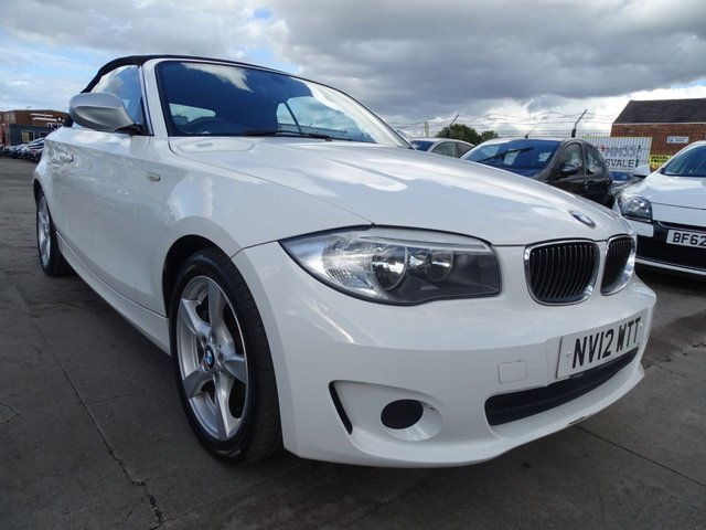 USED 2012 12 BMW 1 SERIES 2.0 118D EXCLUSIVE EDITION 2d 141 BHP AUTOMATIC