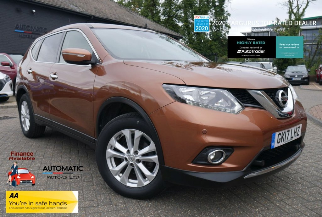 USED 2017 17 NISSAN X-TRAIL 1.6 DIG-T ACENTA 5d 163 BHP 2017  NISSAN X-TRAIL 2 KEYS 1 OWNER ULEZ BLUETOOTH, PARKING SENSORS, USB/AUX
