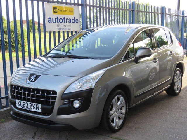 USED 2013 63 PEUGEOT 3008 1.6 HDI ACTIVE 5d 115 BHP REAR PARKING SENSORS, CRUISE CONTROL, SERVICE HISTORY REAR PARKING SENSORS, CRUISE CONTROL, AIR CONDITIONING, ALLOY WHEELS, SERVICE HISTORY