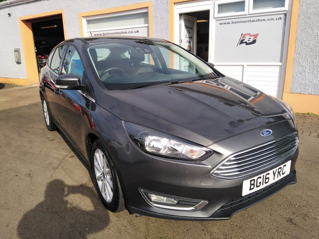 USED 2016 16 FORD FOCUS 1.0 TITANIUM 5d 124 BHP Bluetooth, Sat Nav, Parking sensors, Cruise Control, USB, Ford Synch