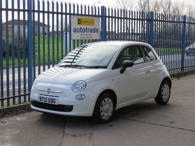 USED 2012 12 FIAT 500 1.2 POP 3dr 69 Excellent service history including Cambelt Cheap RFL Finance arranged Part exchange available Open 7 days ULEX Compliant