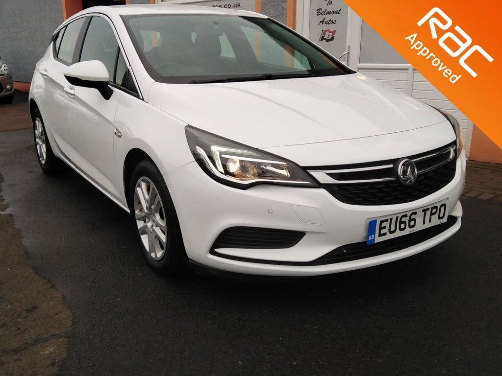 USED 2016 66 VAUXHALL ASTRA 1.6 TECH LINE CDTI ECOFLEX S/S 5d 108 BHP Touchscreen Sat Nav, Bluetooth, Parking Sensors, Cruise Control, 3 Service Stamps