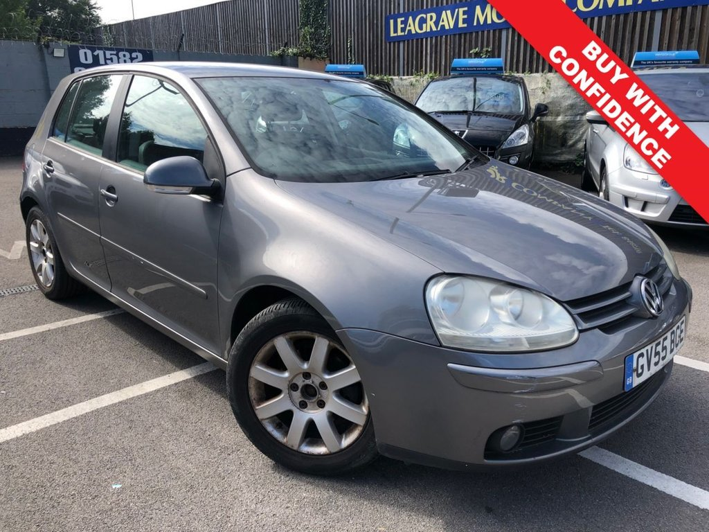 USED 2005 55 VOLKSWAGEN GOLF 1.6 SE FSI 5d 115 BHP GREAT SERVICE HISTORY