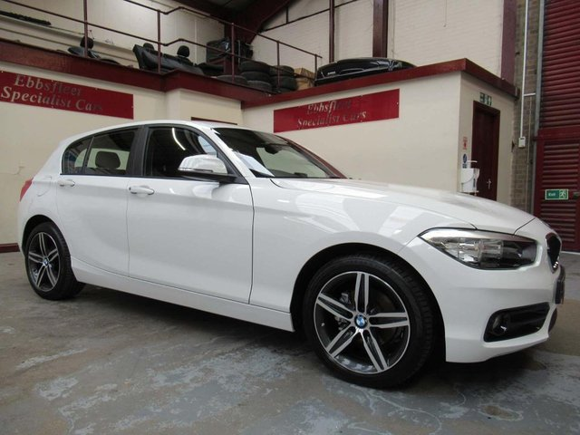USED 2017 17 BMW 1 SERIES 1.5 116d Sport Sports Hatch (s/s) 5dr ***5850 MILES S/HISTORY***