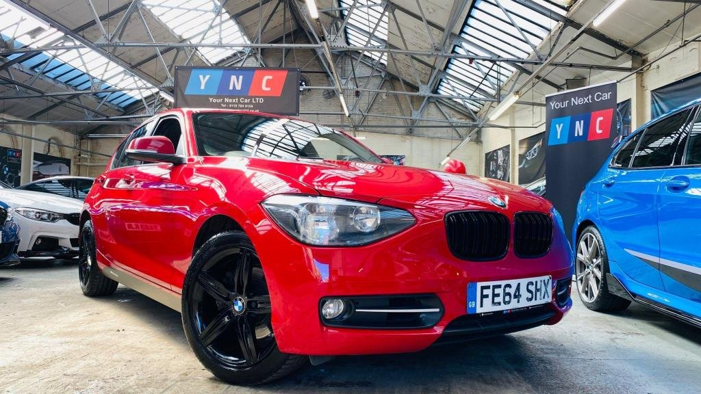 USED 2014 64 BMW 1 SERIES 2.0 120d Sport Sports Hatch (s/s) 5dr YNCSTYLING+SATNAV+DAB+FSH+