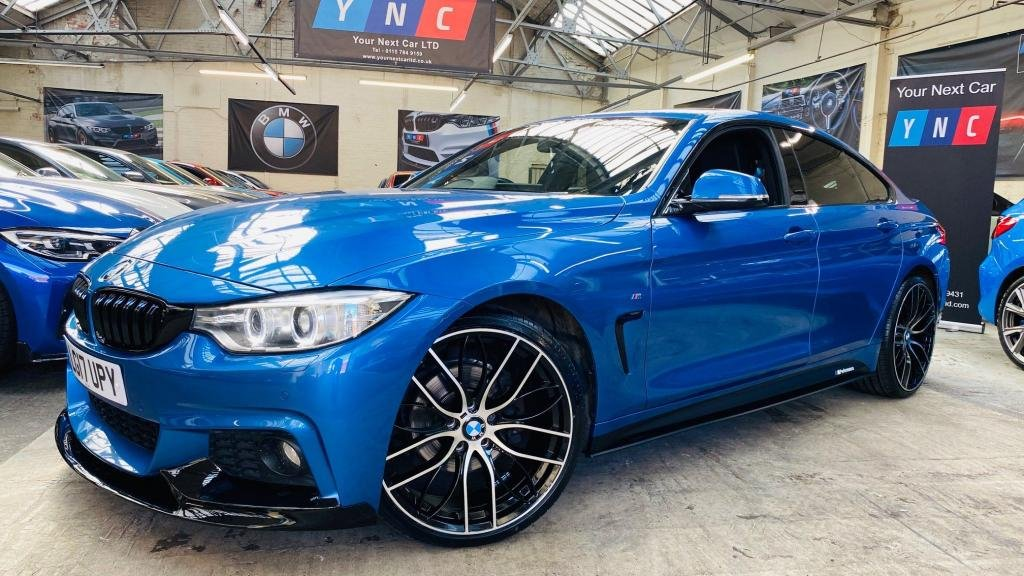 USED 2017 17 BMW 4 SERIES 2.0 420d M Sport Gran Coupe (s/s) 5dr PERFORMANCEKIT+20S+HTDLTHR