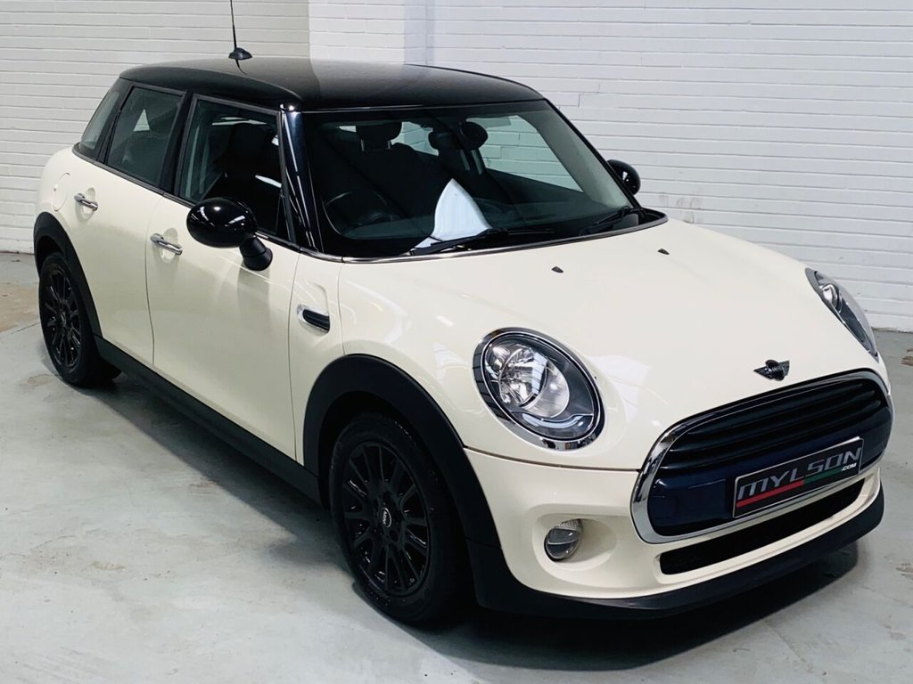 USED 2016 16 MINI HATCH COOPER 1.5 COOPER D 5d 114 BHP Chili Pack with Leather Trim, Cruise Control, Gloss Black Wheels & Roof, Zero Road Tax!