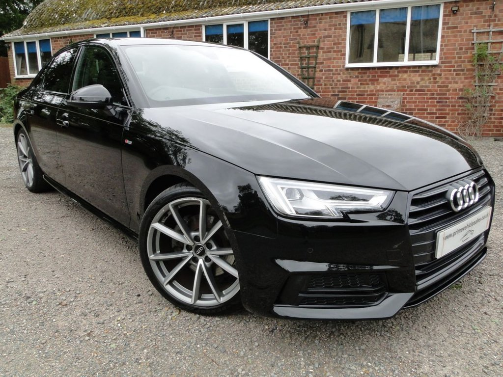 USED 2018 18 AUDI A4 2.0 TFSI Black Edition S-Tronic 4dr