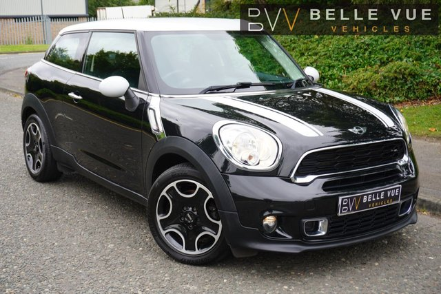 "USED 2013 63 MINI PACEMAN 1.6 COOPER S 3d 184 BHP *SPORTS MODE, AUX/USB, 17"" ALLOY WHEELS!*"