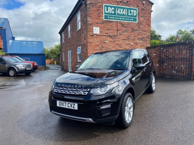 USED 2017 17 LAND ROVER DISCOVERY SPORT 2.0 TD4 HSE 5d 180 BHP High Spec Automatic HSE Sport