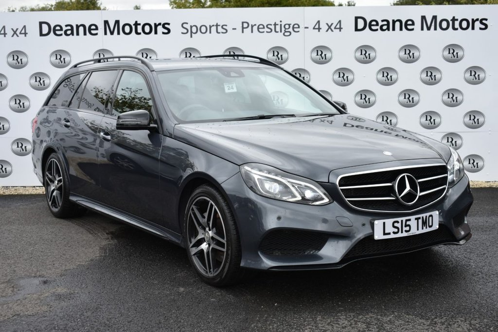 USED 2015 15 MERCEDES-BENZ E-CLASS 3.0 E350 BLUETEC AMG NIGHT EDITION 5d 255 BHP STUNNING EXAMPLE