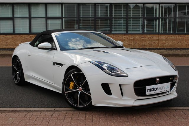 USED 2014 14 JAGUAR F-TYPE 5.0 V8 S 2d 495 BHP