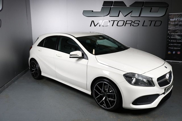 USED 2017 17 MERCEDES-BENZ A-CLASS 2017 MERCEDES A180 CDI BLUEEFFICIENCY AMG LINE NIGHT EDITION STYLE 107BHP (FINANCE & WARRANTY)