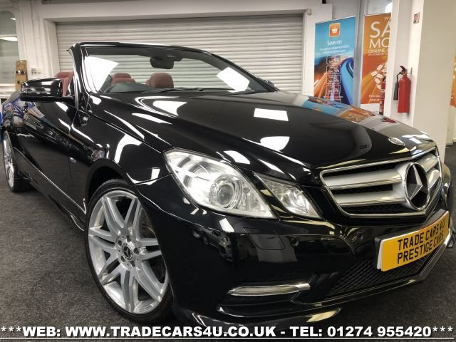 2012 12 MERCEDES-BENZ E-CLASS 2.1 E250 CDI BLUEEFFICIENCY SPORT 2d 204 BHP
