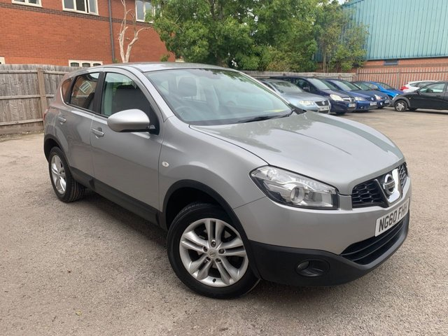 USED 2011 60 NISSAN QASHQAI 1.5 ACENTA DCI  5d 110 BHP REAR PARKING SENSORS, EXTENSIVE SERVICE HISTORY 10 STAMPS