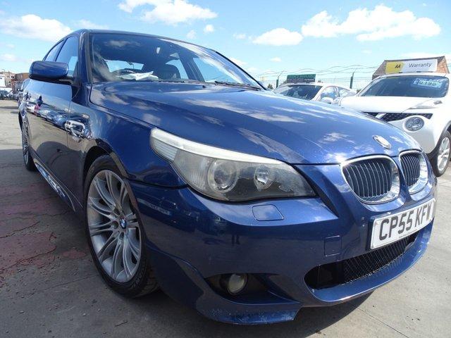 USED 2005 55 BMW 5 SERIES 3.0 530D SPORT 4d 215 BHP DRIVES A1