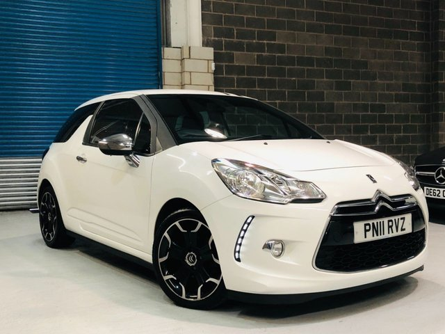 2011 11 CITROEN DS3 1.6 HDI BLACK AND WHITE 3d 90 BHP