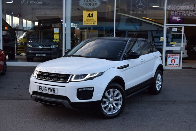 USED 2016 16 LAND ROVER RANGE ROVER EVOQUE 2.0 TD4 SE TECH 5d 177 BHP FINANCE TODAY WITH NO DEPOSIT - SERVICED ON ARRIVAL