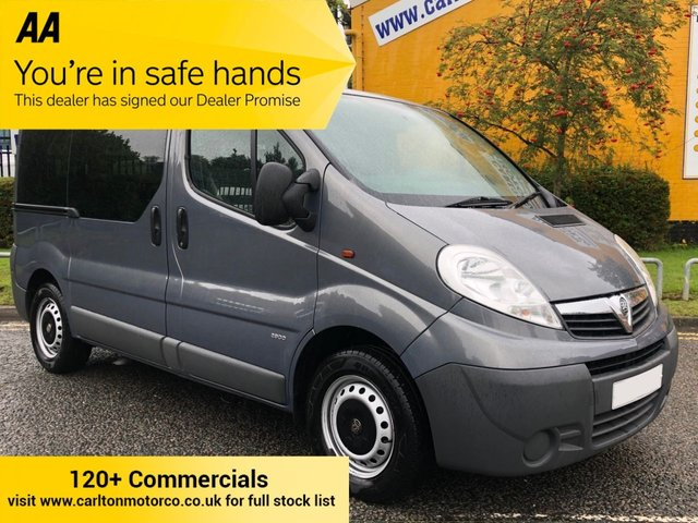 2014 14 VAUXHALL VIVARO 2.0 COMBI CDTI 90 [ WAV / WHEELCHAIR / DISABLED ] 2.9t