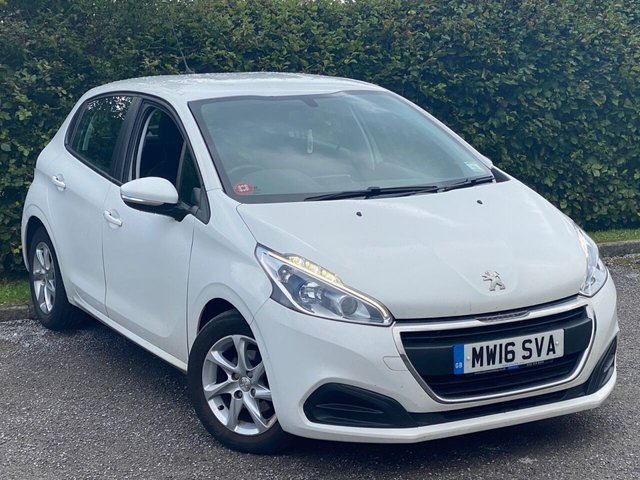 USED 2016 16 PEUGEOT 208 1.6 BLUE HDI ACTIVE 5d 75 BHP FULL TOUCH SCREEN MEDIA, BLUETOOTH CONNECTION