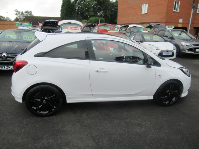USED 2016 16 VAUXHALL CORSA 1.4 LIMITED EDITION ECOFLEX 3d 74 BHP ** 01543 379066  ** JUST ARRIVED ** TEST DRIVE TODAY