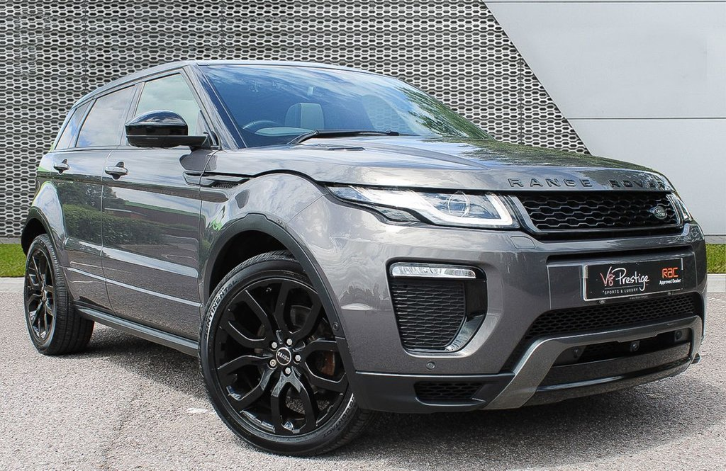 USED 2016 16 LAND ROVER RANGE ROVER EVOQUE 2.0 TD4 HSE DYNAMIC 5d 177 BHP BLACK PACK/PAN ROOF/ LOW MILES