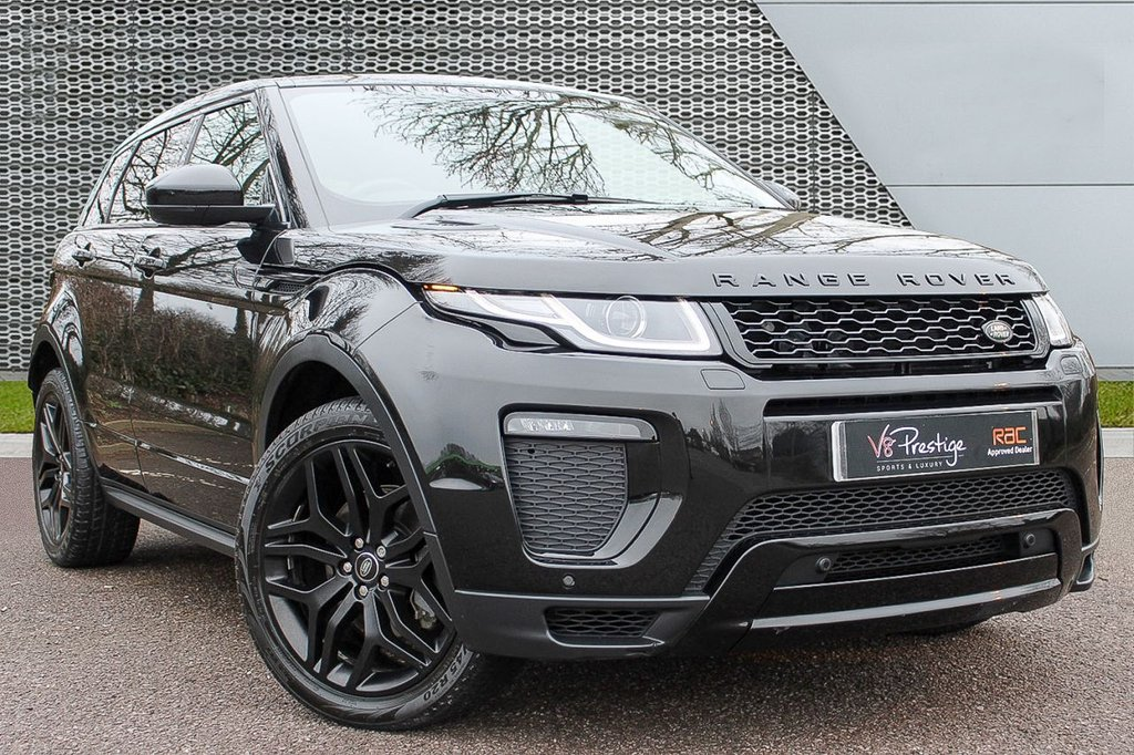 USED 2016 16 LAND ROVER RANGE ROVER EVOQUE 2.0 TD4 HSE DYNAMIC LUX 5d 177 BHP **LUX/STEALTH PACK/PAN ROOF**