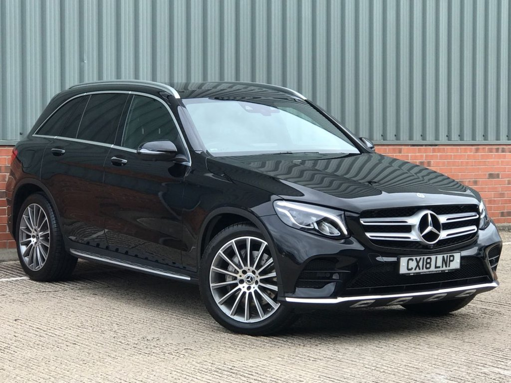USED 2018 18 MERCEDES-BENZ GLC-CLASS 3.0 GLC 350 D 4MATIC AMG LINE PREMIUM PLUS 5d 255 BHP EXCELLENT LOW MILEAGE EXAMPLE