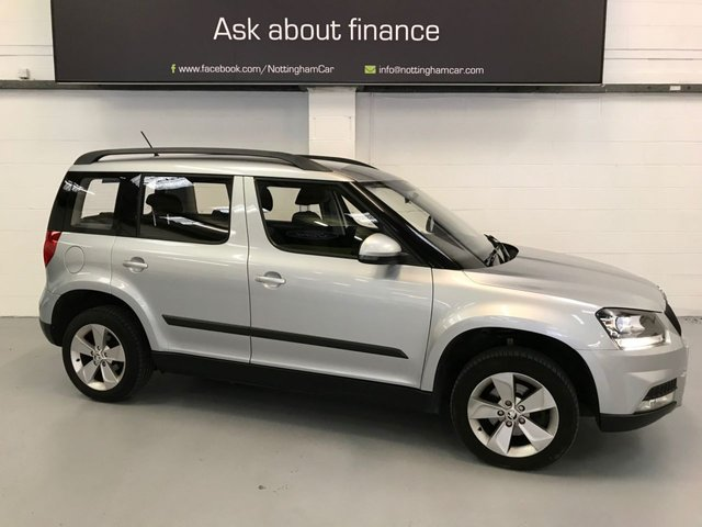 USED 2014 14 SKODA YETI 1.6 OUTDOOR S GREENLINE II TDI CR 5d 103 BHP
