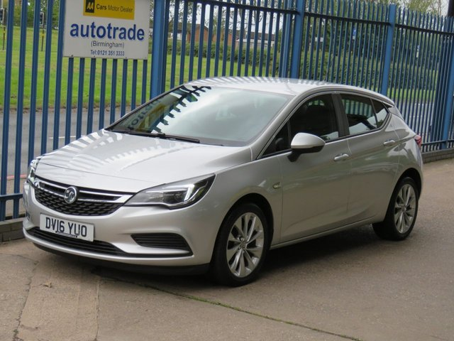 USED 2016 16 VAUXHALL ASTRA 1.6 DESIGN CDTI ECOFLEX S/S 5dr 108 Apple Car Play Bluetooth & audio Cruise DAB Alloys  Finance arranged Part exchange available Open 7 days ULEX Compliant