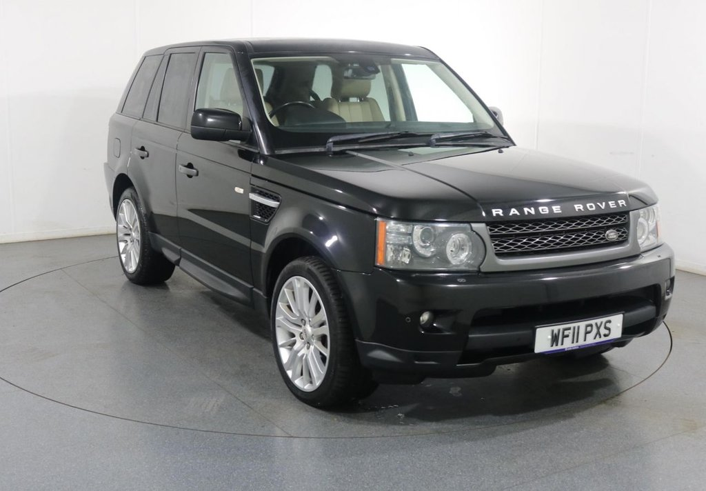 USED 2011 11 LAND ROVER RANGE ROVER SPORT 3.0 TDV6 HSE 5d 245 BHP 3 OWNERS with 7 Stamp SERVICE HISTORY