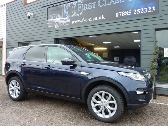 2016 66 LAND ROVER DISCOVERY SPORT 2.0 TD4 HSE 5d 180 BHP