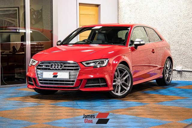USED 2016 66 AUDI A3 2.0 S3 QUATTRO 3d 306 BHP Three Owners | Full Audi Service Records - Four Stamps