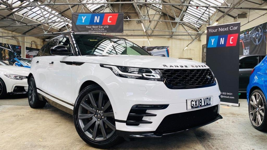 USED 2018 18 LAND ROVER RANGE ROVER VELAR 3.0 D300 R-Dynamic HSE Auto 4WD (s/s) 5dr PANROOF+21'S+FUJIWHITE!